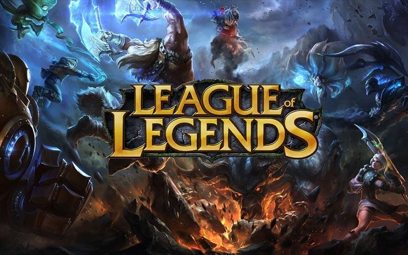 League of legends : une illustration officielle du jeu