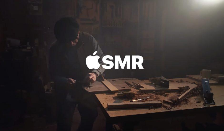 Apple extrait vidéo ASMR