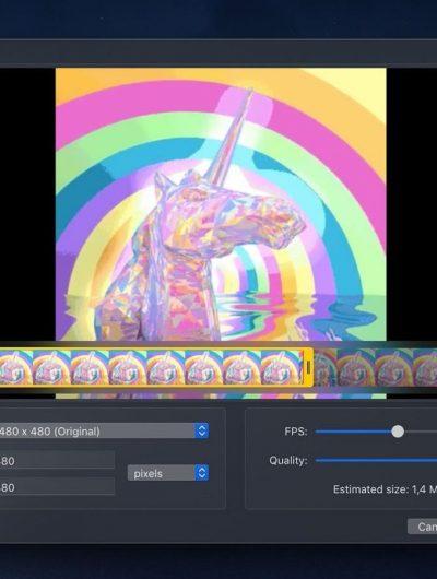 Outil pour transformer vidéo en GIF HD