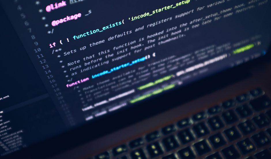Des lignes de code.