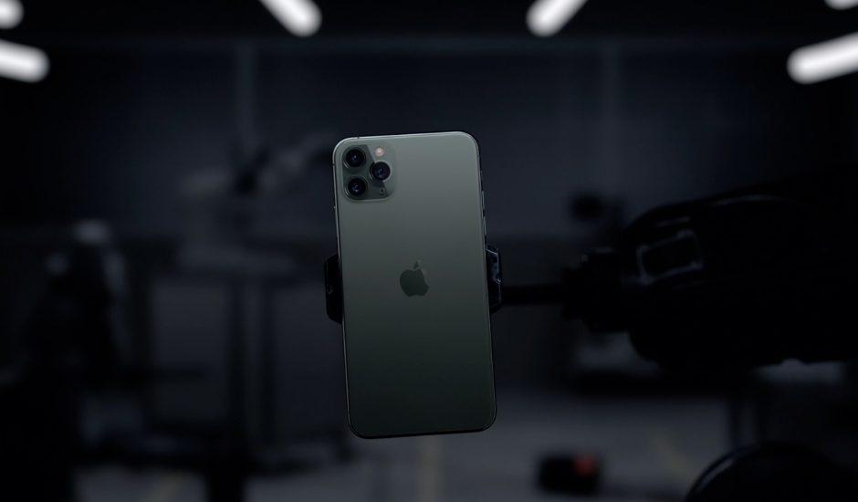 Lancement de l'iPhone 11.