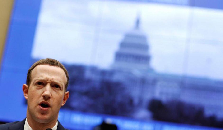 Mark Zuckerberg face au Congrès