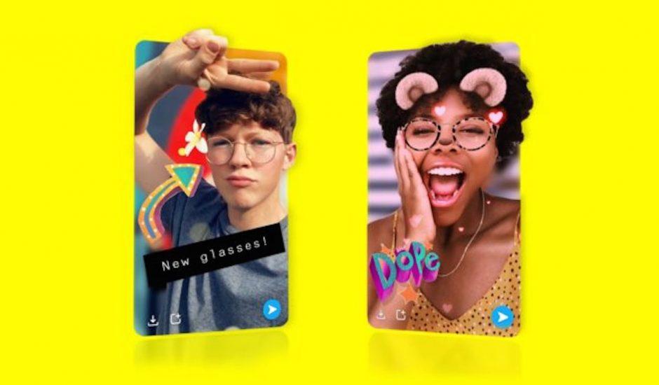 Le Snap en 3D disponible sur l'iPhone
