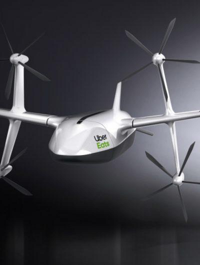 Ce drone livrera bientôt nos repas.