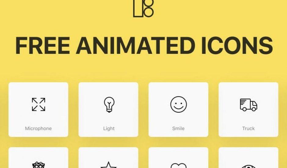 icons8 pack icons animés gratuits