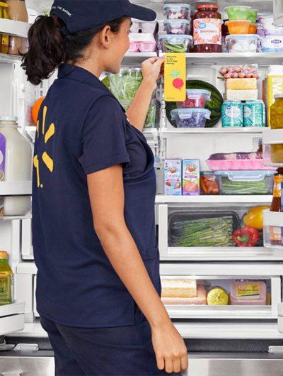 Walmart livre les courses de ses clients directement dans leur frigo.