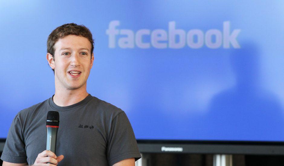 Mark Zuckerberg, le patron de Facebook