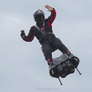 Franky Zapata sur son Flyboard Air