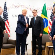 Bolsonaro et Trump au G20