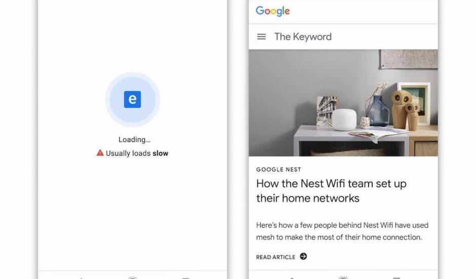Google veut accélérer le web.