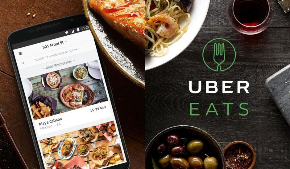 présentation d'Uber eats