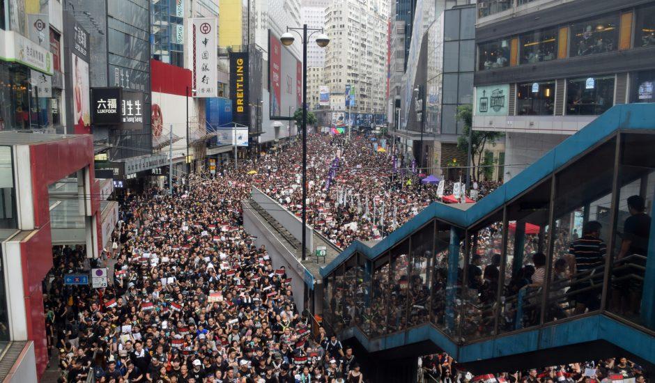 manifestation Hong-Kong 2019