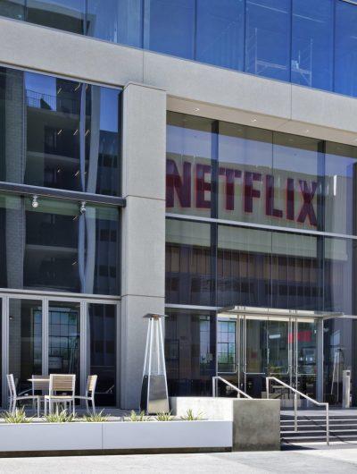 Entrée des bureaux de Netflix à Los Angeles