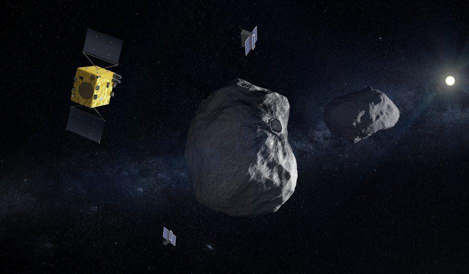 La mission Hera vise à dévier un astéroïde