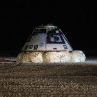 Starliner est de retour sur Terre.