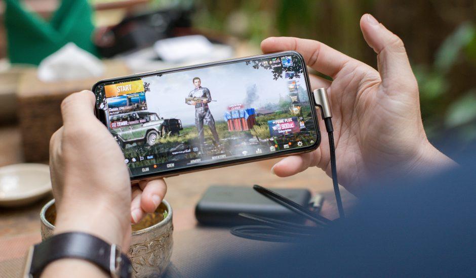 Jeux vidéo sur mobile