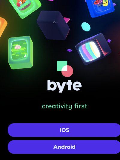 Le co-fondateur de Vine lance Byte.