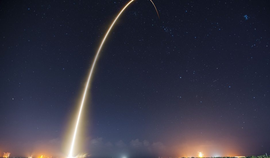 Les satellites ont été lancés depuis une fusée Falcon 9