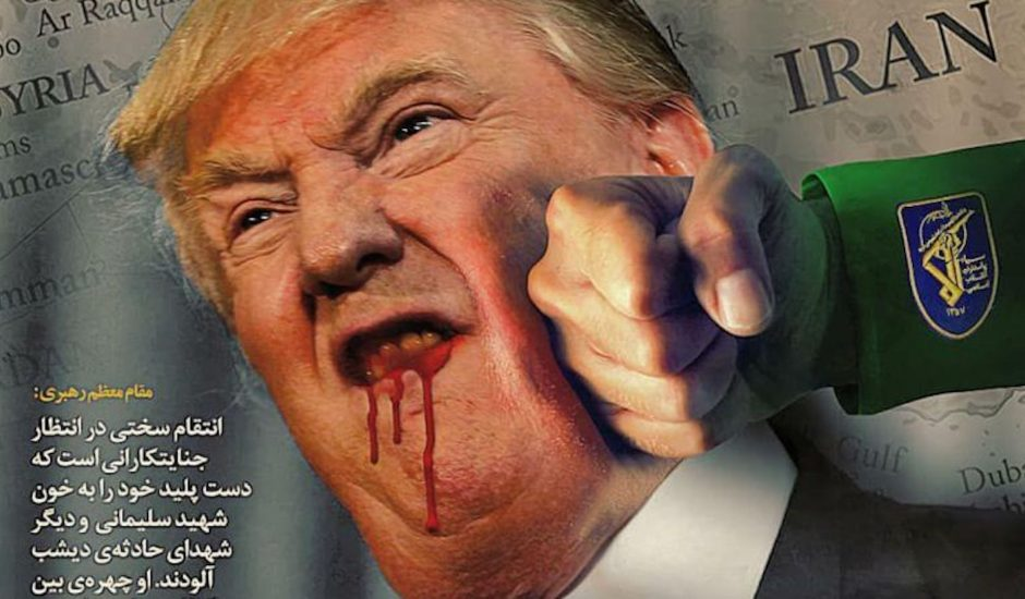 L'Iran riposte et attaque les États-Unis.