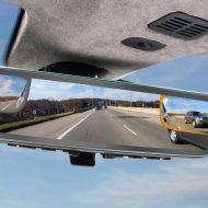 Aston Martin dévoile un nouveau rétroviseur.