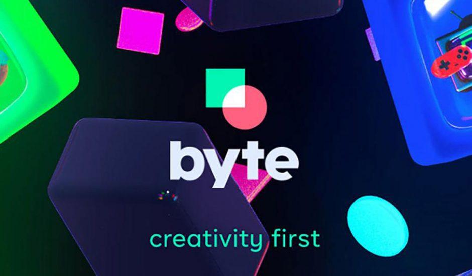 Byte : image de présentation de l'application.