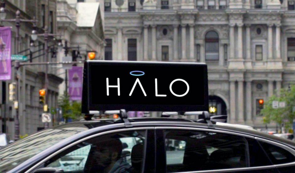 Lyft s'offre Halo Cars pour la publicité