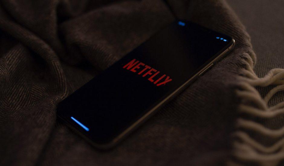 Netflix sur un smartphone Android