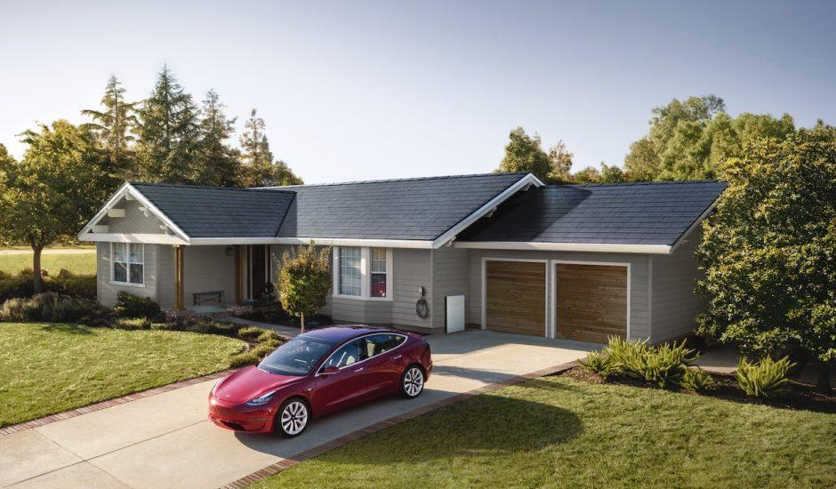 Le toit Solarglass de Tesla.