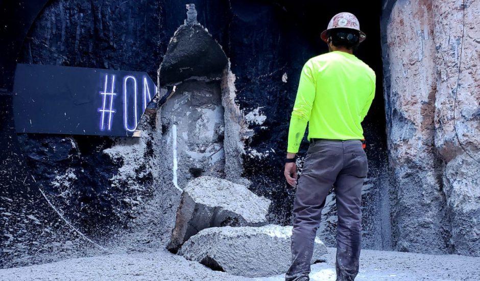 Le tunnel de Las Vegas est creusé.