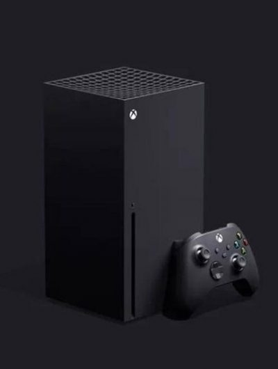 La Xbox Series X de Microsoft.