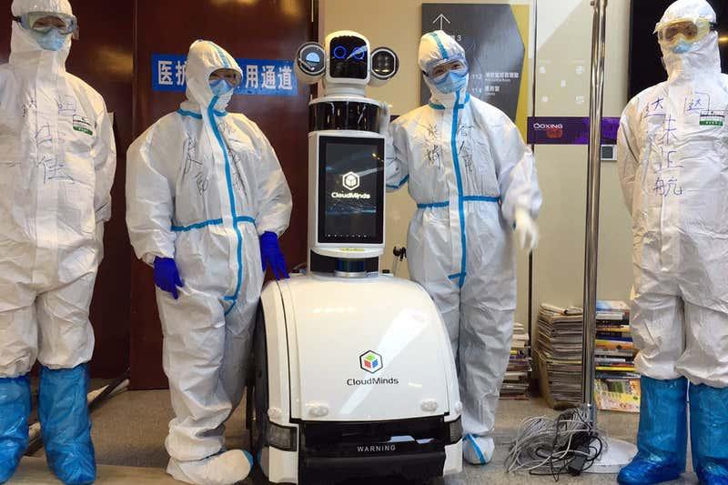 Des robots à la place des médecins en Chine.