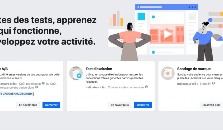 Facebook Expériences