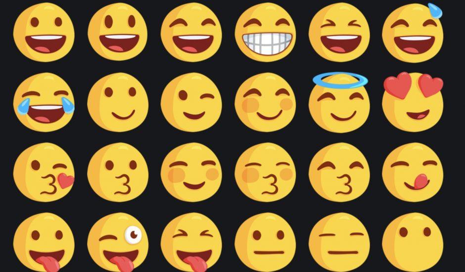 Les emojis seront utilisés en tant que statuts.
