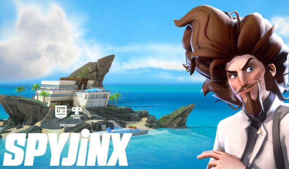 Spyjinx : image promotionnelle du nouveau jeu d'Epic Games.