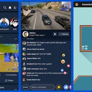 Aperçu de la nouvelle application mobile Facebook Gaming.
