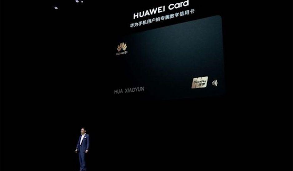 Présentation de la Huawei Card.