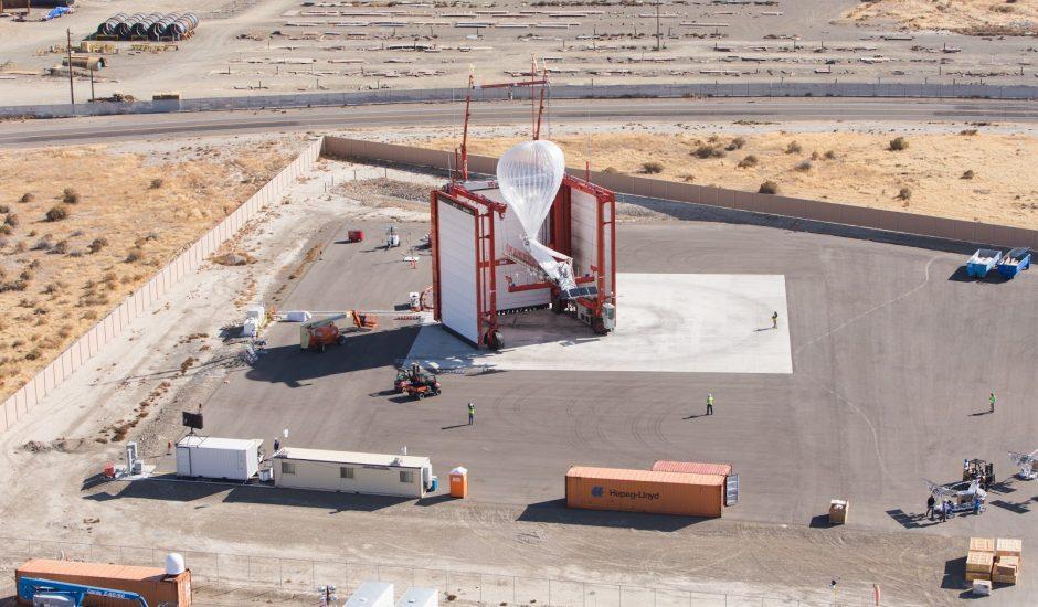 La base de lancement de Loon.