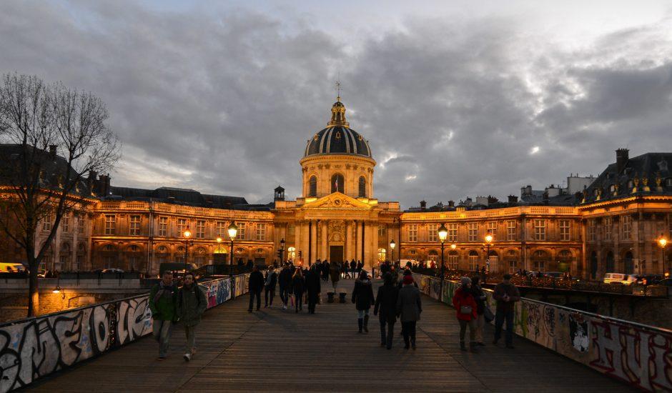 Le bâtiment de l'Académie Française