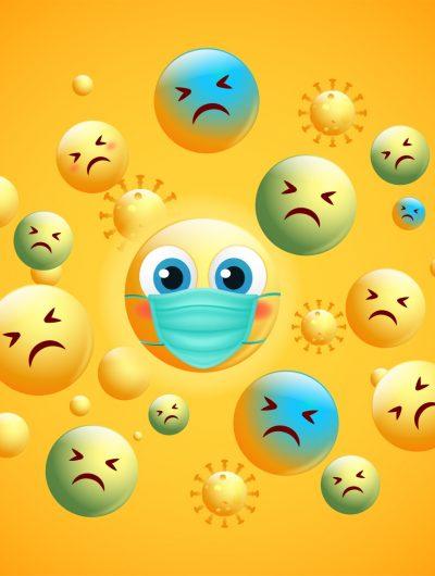 Les émojis reflètent l'humeur mondial