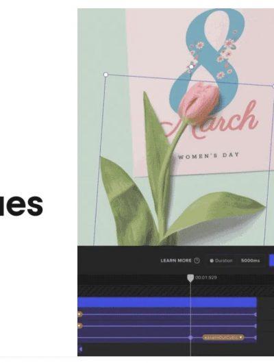 Aperçu de la fonctionnalité Animation dans ArtBoard Studio