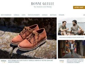 Homepage du média Bonne Gueule