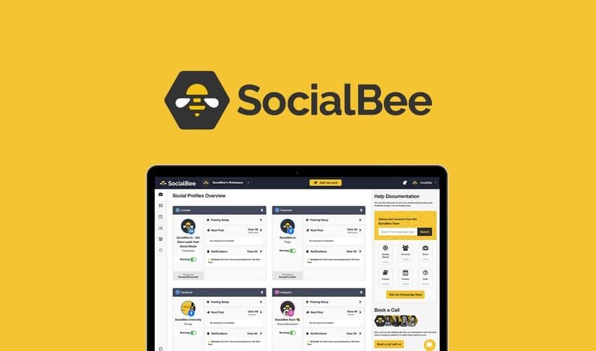 aperçu de l'outil SocialBee