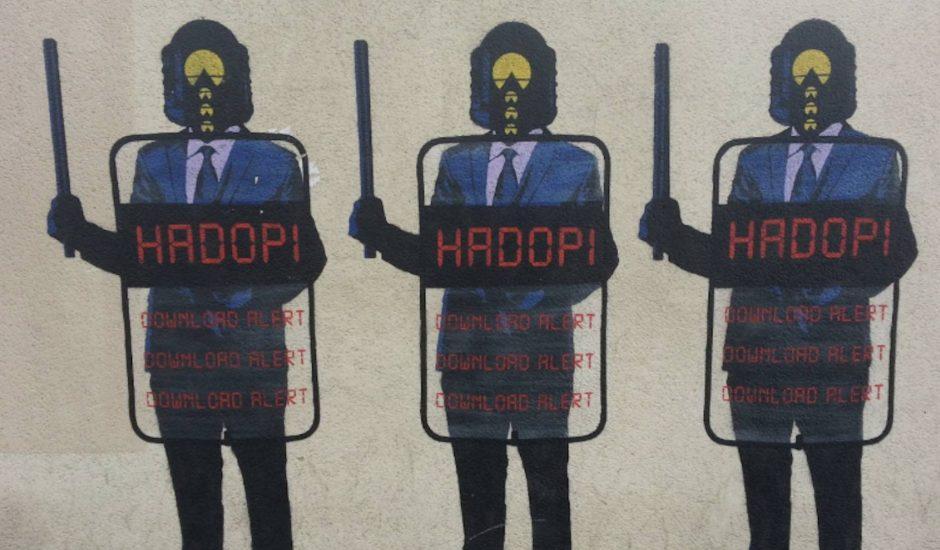 Aperçu du gendarme Hadopi.