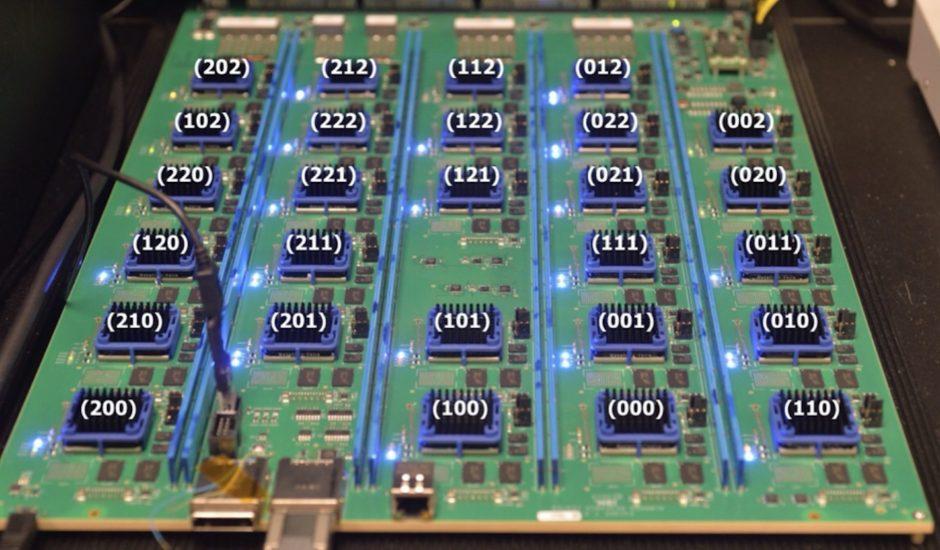 Aperçu de l'architecture informatique de l'IBM Neural Computer