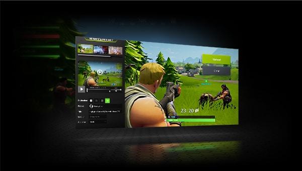 Illustration d'un jeu vidéo alimenté par les technologies de Nvidia.