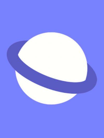 Logo de Samsung Internet.