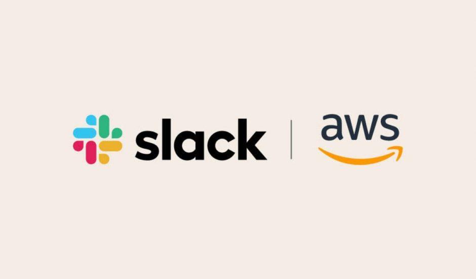 logo de Slack et de AWS