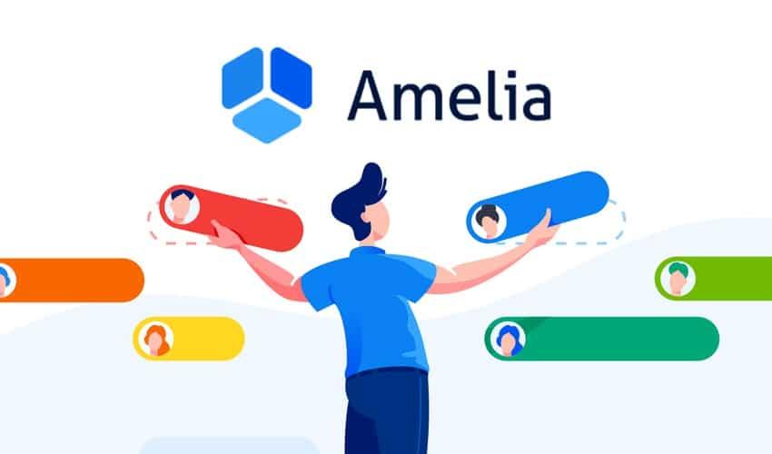 illustration présentant l'outil de réservation Amelia