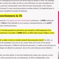 Exemple de texte mis en surveillance à travers un lien