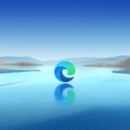 Illustration du logo Microsoft Edge.
